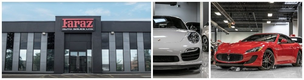 Luxury Car Dealer serving the Brampton area