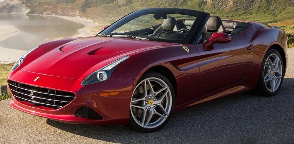 Ferrari California T at faraz