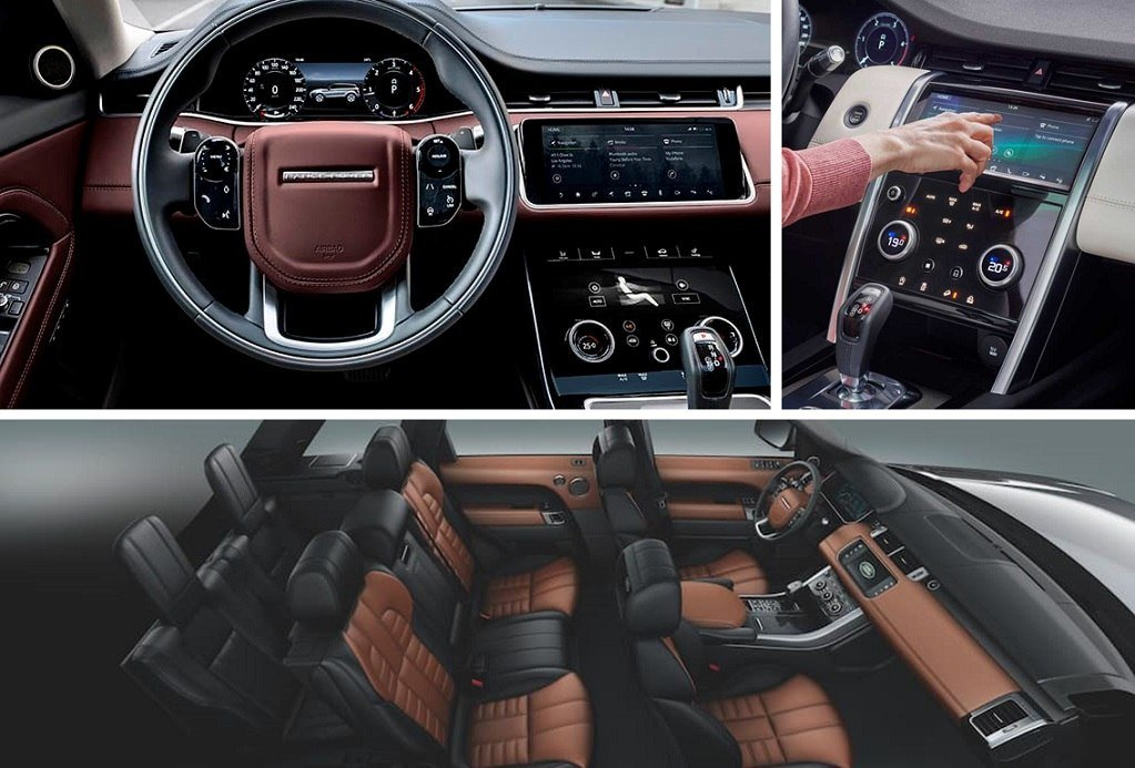 2020 Land Rover Range Rover Sport interior and seating